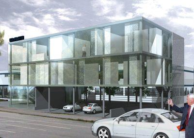verwaltungsgebäude rafi | rv