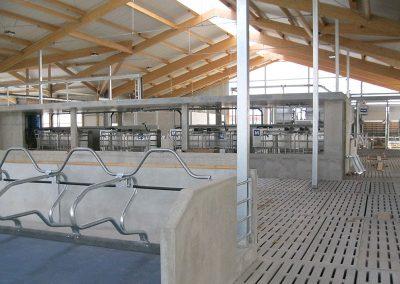 milchviehstall in erolzheim (biobetrieb mit 4ams)